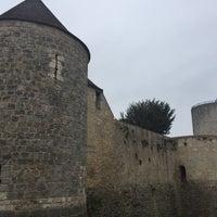 Photo taken at Château de Dourdan by Huguette R. on 5/6/2017