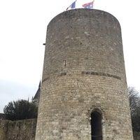 Photo taken at Château de Dourdan by Huguette R. on 12/23/2017