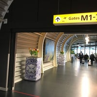 Photo taken at Concourse M by Emiel H. on 11/24/2017