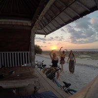 Photo taken at Gili Eco Villas by Lorena G. on 7/4/2015