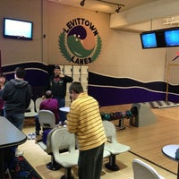 Photo taken at South Levittown Lanes by Michael D. on 3/23/2013