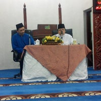 Photo taken at Masjid Al-Istighfar (Mosque) by Mohd Hisham R. on 4/4/2015