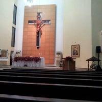 Photo taken at Gereja Kristus Salvator by Win n. on 1/20/2013