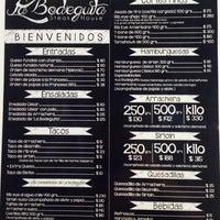 "Photo taken at ""La Bodeguita"" Steak House by Alejandra P. on 2/25/2014"