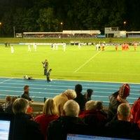 Photo taken at Stade Fallonstadion by Edgar M. on 9/26/2012