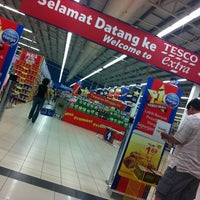 Photo taken at Tesco Extra by mohdfaidzal on 10/6/2012