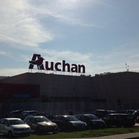 Photo taken at Auchan by Manuel M. on 3/11/2014