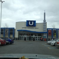 Photo taken at Upper Canada Mall by Michael John O. on 11/6/2012