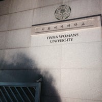 Photo taken at Ewha Womans University Shinsegae Building by Soomin L. on 12/16/2014