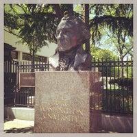 Photo taken at The George Washington University by Brad L. on 5/2/2013