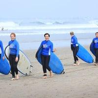 Photo taken at Up2U Surf School by UP2U SURF S. on 11/19/2016