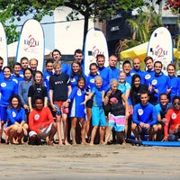 Photo taken at Up2U Surf School by UP2U SURF S. on 3/13/2016