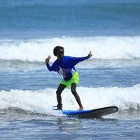 Photo taken at Up2U Surf School by UP2U SURF S. on 4/5/2016