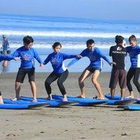 Photo taken at Up2U Surf School by UP2U SURF S. on 3/28/2016