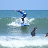 Photo taken at Up2U Surf School by UP2U SURF S. on 8/15/2016