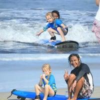 Photo taken at Up2U Surf School by UP2U SURF S. on 1/21/2016