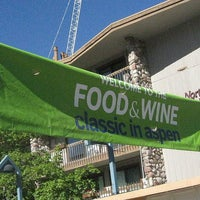 Photo taken at Food & Wine Classic by Tim R. on 7/28/2013