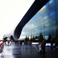 Photo taken at Domodedovo International Airport (DME) by Александр Л. on 10/30/2013