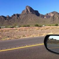 Photo taken at Picacho Peak by Glenn T. on 10/2/2012
