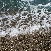 Photo taken at Средиземное море by Katya ♡ on 4/16/2014