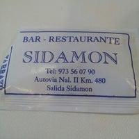 Photo taken at Restaurant Sidamon by Jezabel on 12/1/2013