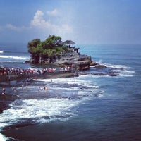 Photo taken at Tanah Lot Temple by Putri O. on 6/21/2013