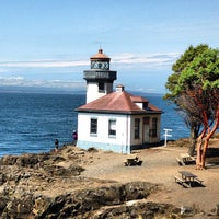 Photo taken at Lime Kiln Point State Park by Emily H. on 8/11/2013