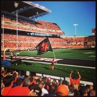 Photo taken at Reser Stadium by Emily H. on 9/8/2013