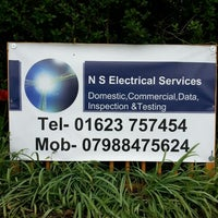 Photo taken at NS Electrical Services by Jamie on 5/18/2013