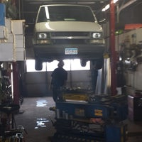 Photo taken at Affordable Muffler by Mick N. on 4/18/2014