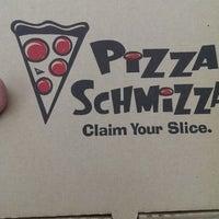 Photo taken at Pizza Schmizza by 100PCTBRAD on 8/1/2013