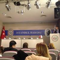 Photo taken at İstanbul Barosu by Sedef B. on 2/14/2013
