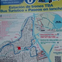 Photo taken at Buenos Aires Bus - Stop 0: Diagonal Norte by Jomat R. on 12/18/2014