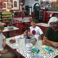 Photo taken at Firehouse Subs by Rachel H. on 7/20/2013