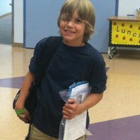 Photo taken at Frank Lamping Elementary School by Rachel H. on 4/19/2013