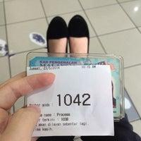 Photo taken at Jabatan Pendaftaran Negara (JPN) by Eunice Y. on 5/23/2014