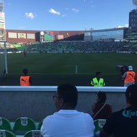 Photo taken at Territorio Santos Modelo Estadio by Miguel M. on 7/27/2017