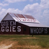 Photo taken at Gig 'Em Aggies Barn by Shane H. on 4/29/2012