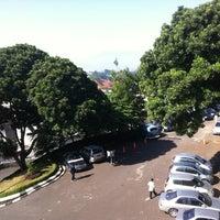 Photo taken at Universitas Katolik Parahyangan (UNPAR) by Angga E. on 6/19/2012