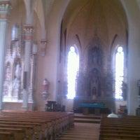 Photo taken at St. Mary's Catholic Church by Liz G. on 7/3/2012