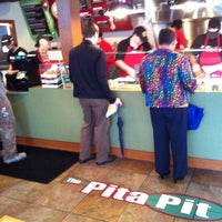 Photo taken at The Pita Pit by Ryan H. on 6/12/2012