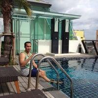 Photo taken at Sunshine Hotel & Residences by Kenyon M. on 8/20/2012