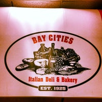 Photo taken at Bay Cities Italian Deli & Bakery by Oren A. on 9/13/2012