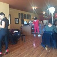 Photo taken at Bronzeville Coffee & Tea by Bruce M. on 3/10/2012