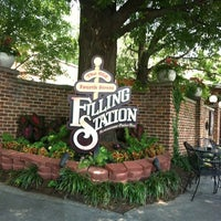 Photo taken at The Old Fourth Street Filling Station by Chuck N. on 6/28/2012