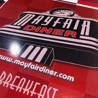 Photo taken at Mayfair Diner by John F. on 3/10/2012