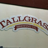 Photo taken at Tallgrass Brewing Co by Joe T. on 2/11/2012