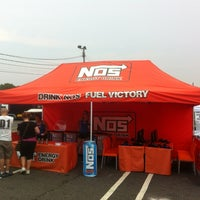 """Photo taken at NOS® Energy Drink at Formula Drift Rd. 4 """"The Gauntlet"""" by Patrick on 6/22/2012"""