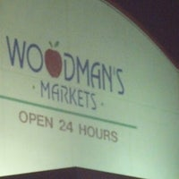 Photo taken at Woodman's Food Market by Dustin W. on 7/28/2012