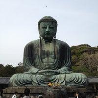 Photo taken at Great Buddha of Kamakura by lee_koo on 4/29/2012